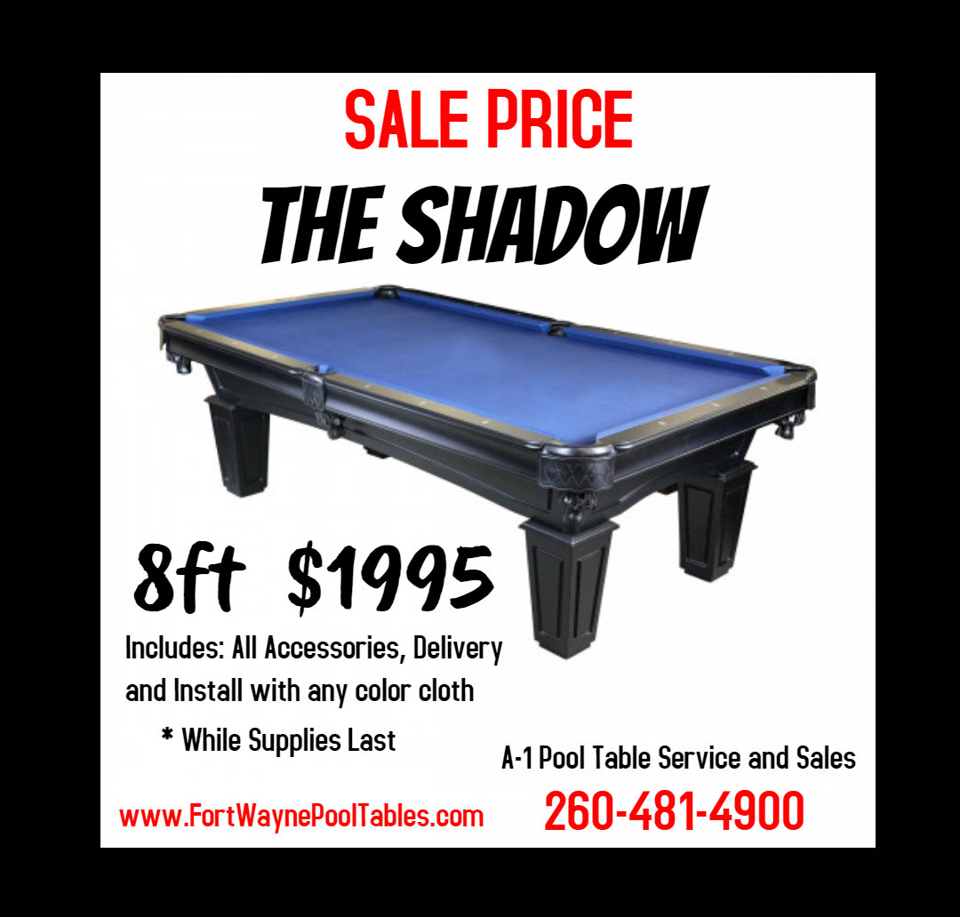 Prime A 1 Pool Table Service And Sales Home Interior And Landscaping Ponolsignezvosmurscom